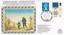 (81343) GB Benham copertura SECONDA GUERRA MONDIALE INVASIONE DELLA SICILIA bfps 2358 9 luglio 1993