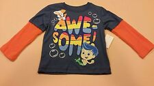 Bubble Guppies Toddler Boy Long Sleeve Shirt Gil New 4T