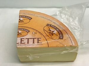 Raclette Cheese , French Cheese 1.8kg 1/4 Wheel . , Chilled Delivery , Fondue