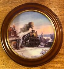 """Hamilton Train Plate Collection """"Morning Star"""" Limited Plate Nr. 1454A"""