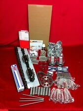 Olds 371 Deluxe engine kit 1958 bearings gaskets cam lifters pistons valves++