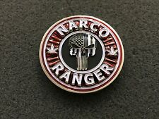 NYPD RED NARCO RANGER CHALLENGE COIN