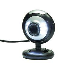 USB 2.0 Webcam HD 12.0MP 6 LED Night Light Web Camera Built-in Mic for PC Laptop