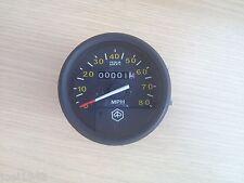 PX150 -  PX200 -  P200E SPEEDO 80 MPH.  BLACK RIM. FOR VESP PX 150-200  NEW