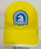 2013 Boston Marathon Adidas Adizero Hat yellow lightweight running hat