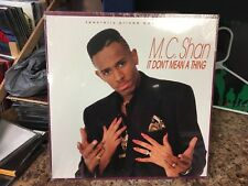 """M.C. Shan It Don't Mean a Thing 12"""" single Cold Chillin' 1990 SEALED"""