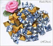 Swarovski Vintage Square Pointed Light Sapphire Blue Crystal 4400 4mm Lt Repair
