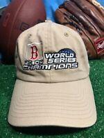 Rare Boston Red Sox RedSox World Series 2004 Strapback Hat cap H15