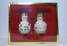 "Lenox For The Holidays ""Toy Soldier Salt & Pepper"" New In Box For Christmas"
