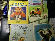 4 alte Kinderbücher Bilderbücher
