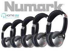 5 X Numark HF125 Professional DJ Headphones 3.5mm - 6.35mm FREE P&P*