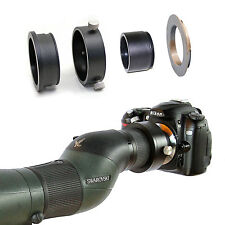 Nikon F camera adapter for Swarovski Spotting Scope ATM STM 80 25-50x eyepiece