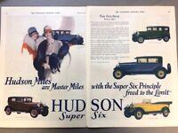 1927 Hudson Automobile Vintage Advertisement Print Art Car Ad Poster LG70