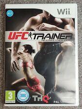 UFC Personal Trainer The Ultimate Fitness FR NL PAL jeu Nintendo WII WII U WIIU