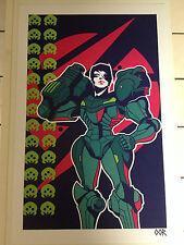 Metroid Samus poster print