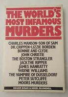 """The World""""s Most Infamous Murders, Roger Boar & Nigel Blundell, Used; Good Book"""