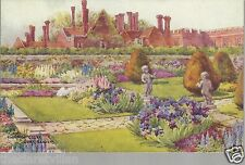 Hampton Court Sunk Gardens  G.M. Fowell Old Unposted Postcard