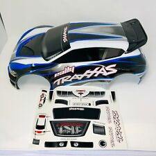 Traxxas Rally 4WD 1/10 Blue Body Shell Bodyshell - Pre-Painted - Decals 7416 New