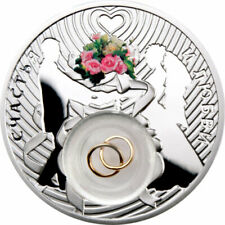 Wedding coin Proof Silver Coin 2$ Niue 2012