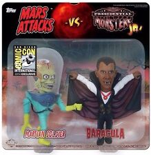Mars Attacks Presidential Monsters Jr SDCC Martian Soldier & Baracula 2-pack