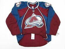 COLORADO AVALANCHE AUTHENTIC HOME TEAM ISSUED REEBOK EDGE 2.0 7287 JERSEY SZ 52
