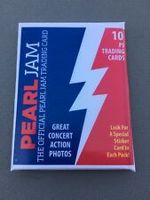 Pearl Jam Concert Chicago Wrigley Field Baseball Basketball Card Pack 2018