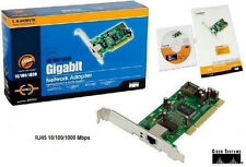 LINKSYS Gigabit Network Adapter 10/ 100/ 1000Mbps PCI 1 x RJ45  (EG1032).