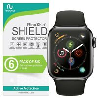 For Apple Watch Screen Protector 44mm Series 4 [6-PACK] RinoGear USA Lifetime