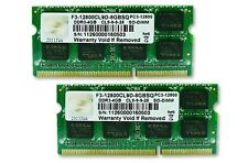 BRAND NEW G.Skill 8GB (2x4GB) PC3-12800 SO-DIMM 1600MHz DDR3 SDRAM Laptop Memory