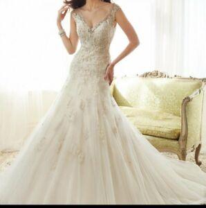 Sophia Tolli Y11555 Wedding Gown