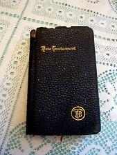 Pocket Testament League New Testament Holman Edition Copyright 1900