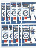 x30 JOSH ALLEN 2019 Contenders #3 Football card lot/set Buffalo Bills 2nd Year!!