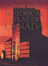 Concise Historical Atlas of Canada  Hardcover Book New