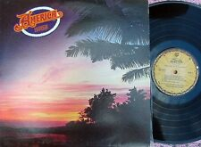 America ORIG US LP Harbor EX '77 Pop Rock Country Rock Warner BSK3017 & Poster