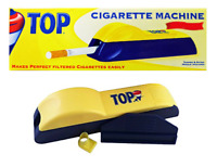 TOP King Size Cigarette Machine - 1 ROLLER - Tobacco Tube Filler Injector RYO
