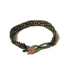 Barong Barong,Armband Magic Carpet in natur/schwarz, Silber,vergoldet,Bracelet
