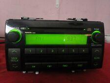 Toyota Radio Single CD Disk Player, OEM Stereo Head Unit Camry 2005 2006