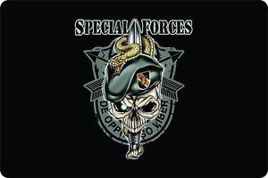 Green Berets Guns America Plaque Freedom Bear Arms Novelty Sign Homes Garden Art