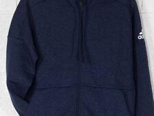 Abbiglimento sportivo da uomo Felpa con cappuccio blu adidas