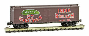 Micro-Trains MTL Z-Scale Heinz Series Car #7 - 36ft Wood Reefer India Relish 305