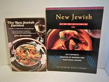 New Jewish Cuisine Cookbook LOT Kosher w Holiday and Sabbath Meals Traditional