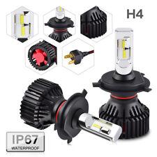 BEVINSEE H4 LED Headlight Conversion Bulbs Kit Hi/Low Beam 9003 HB2 Bright White