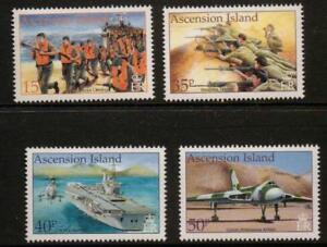 ASCENSION SG844/7 2002 20th ANNIV OF LIBERATION OF THE FALKLANDS MNH