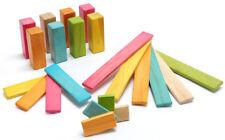 Tegu 22pc Tints Magnetic Wooden Building Set planks blocks