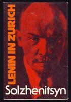 Solzhenitsyn LENIN IN ZURICH History RUSSIAN REVOLUTION Russia FIRST EDITION