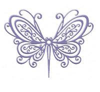 Metal Butterfly Cutting Stencil Die - Embossing, Scrapbooking, Crafts - UK Stock