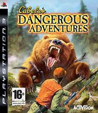 Cabela's Cabelas Dangerous Adventures PlayStation 3 PS3 Brand New