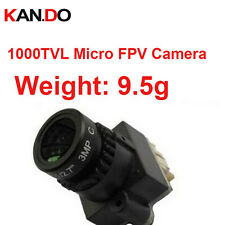 "1000TVL FPV Camera NTSC/PAL 1/2.7"" 5V Power Camera 2.8mm Wide Angle Lens CCTV"