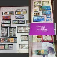 The Collection of 1995 Australian stamp Book Album Packing Paper Vintage Rare