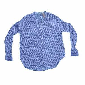 Maison Scotch Women's Long Sleeve Shirt L Colour:  Multi